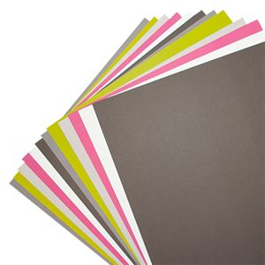 Picture of Black Noir Solid Color Cardstock
