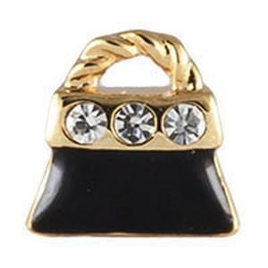 Picture of Black Purse Charm